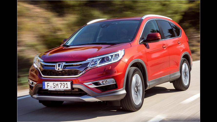 Honda CR-V: Zugpferd frisch gestriegelt