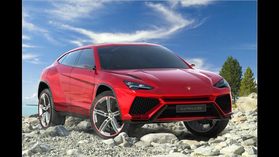Lamborghini blickt mit der SUV-Studie Urus in die Zukunft