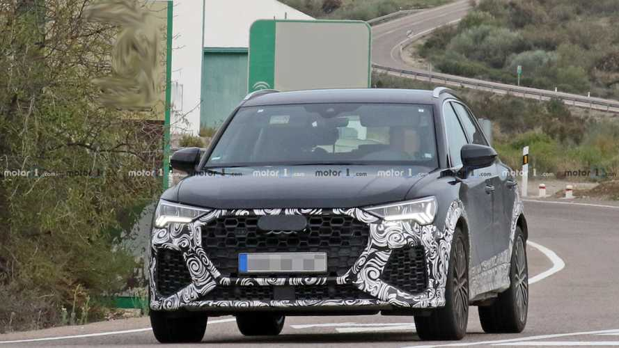 Audi RS Q3 new spy shots