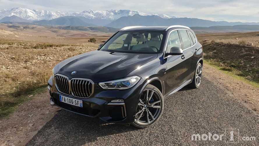 Essai BMW X5 M50d (2019) - Il frise le sans-faute