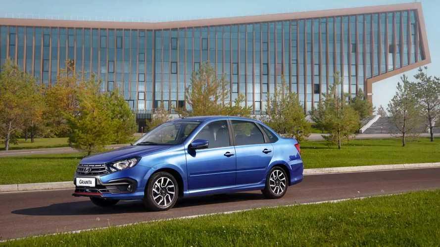 Lada Granta Drive Active тест-драйв в Казани