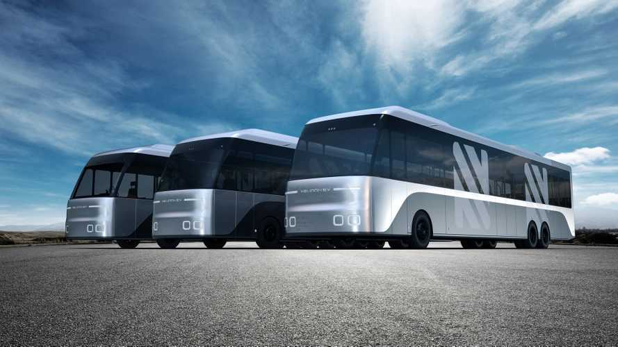 Neuron electric buses