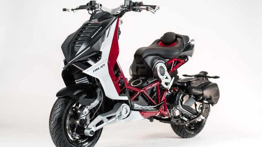Italjet Dragster, l'Urban Superbike torna ad Eicma