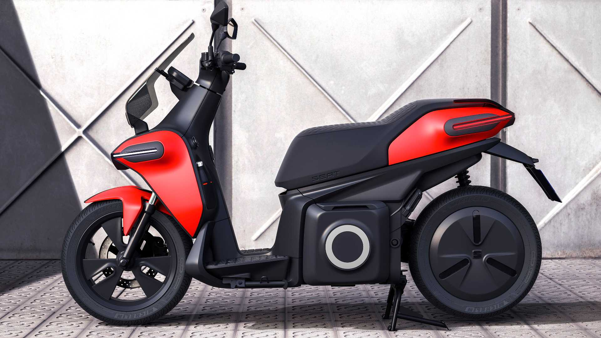 SEAT e-Scooter Concept didn't come to play games