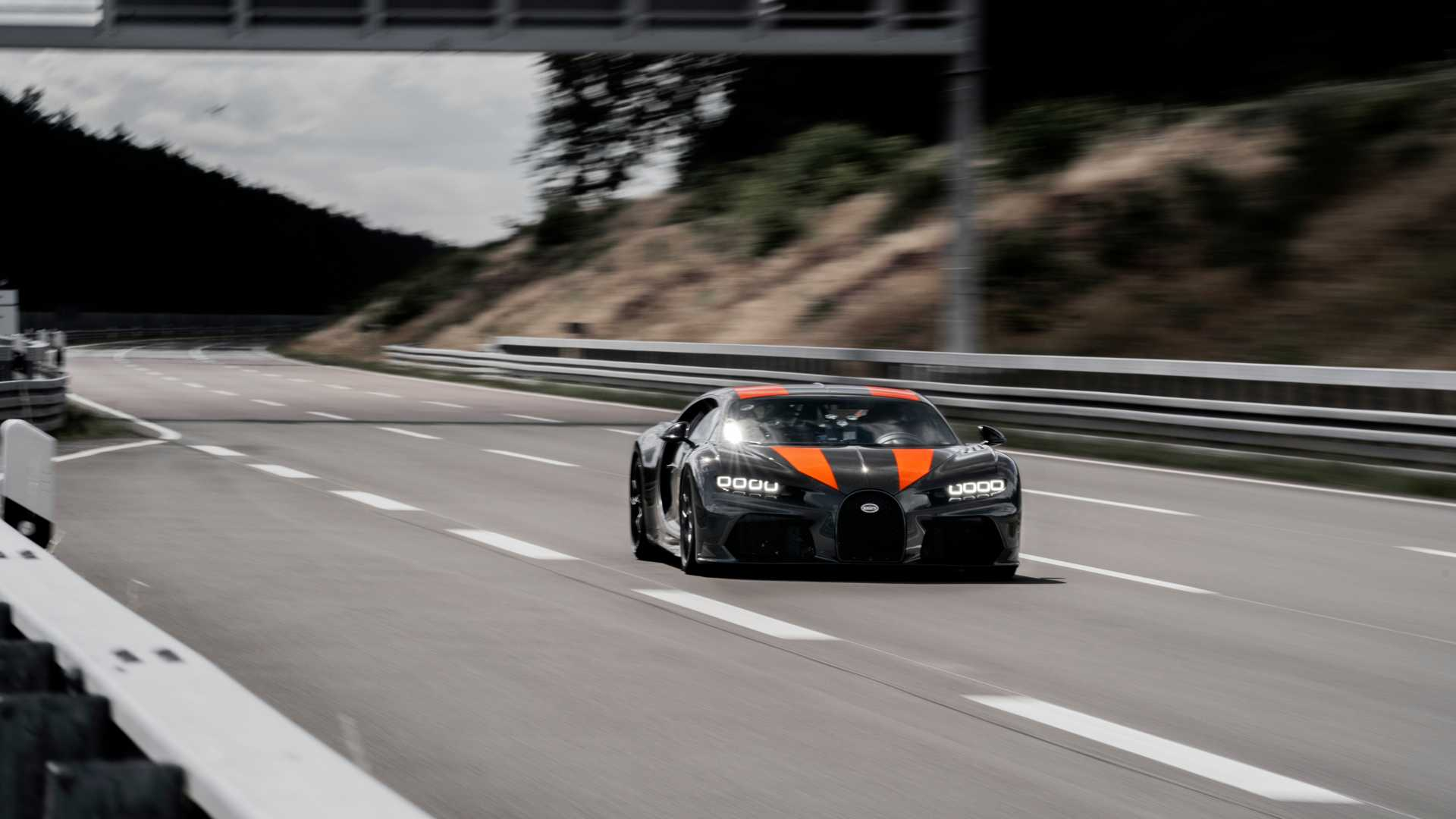 Bugatti Chiron Sport built for top speed run