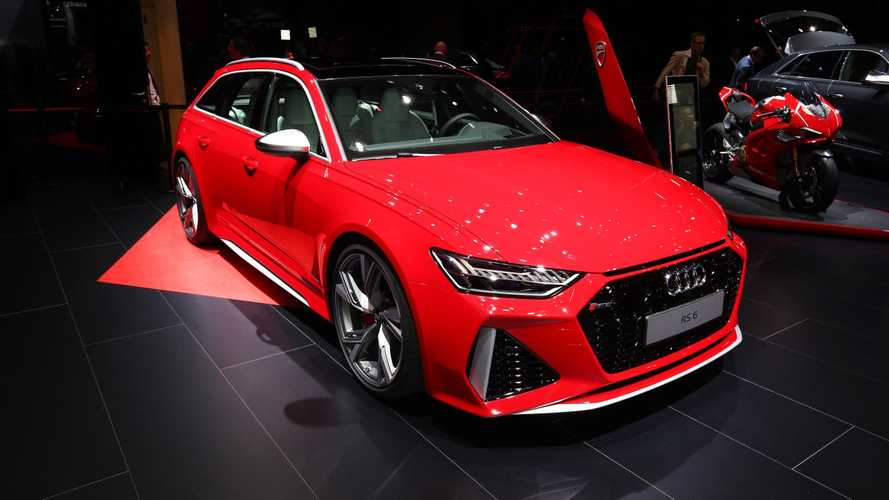 Audi RS6 Avant at the 2019 Frankfurt Motor Show