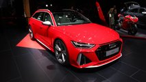 Audi RS6 Avant at the 2019 Frankfurt Motor Show