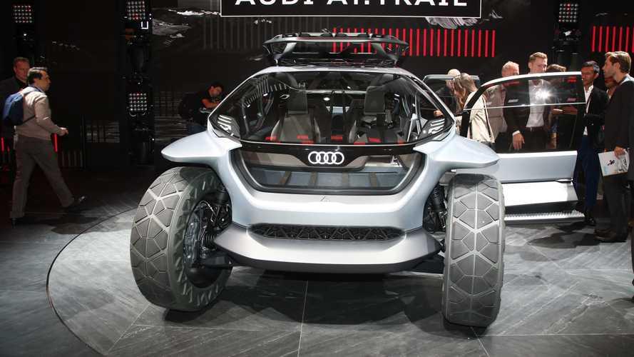 Audi AI:Trail Quattro, un buggy eléctrico concepto que mira al futuro