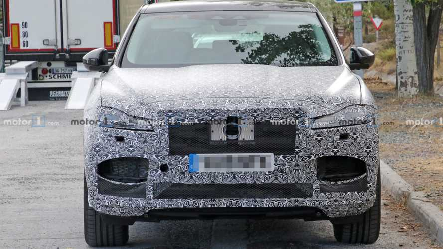 Jaguar F-Pace Spy Photos
