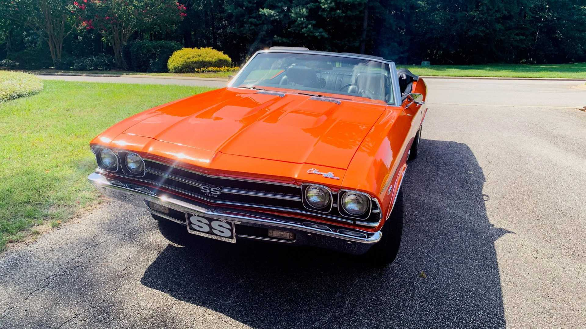 "[""1969 Chevrolet Chevelle Convertible SS Tribute""]"