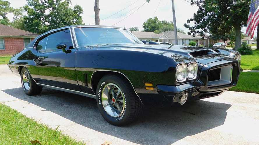 Bid On This Excellent Garage-Kept 1972 Pontiac GTO
