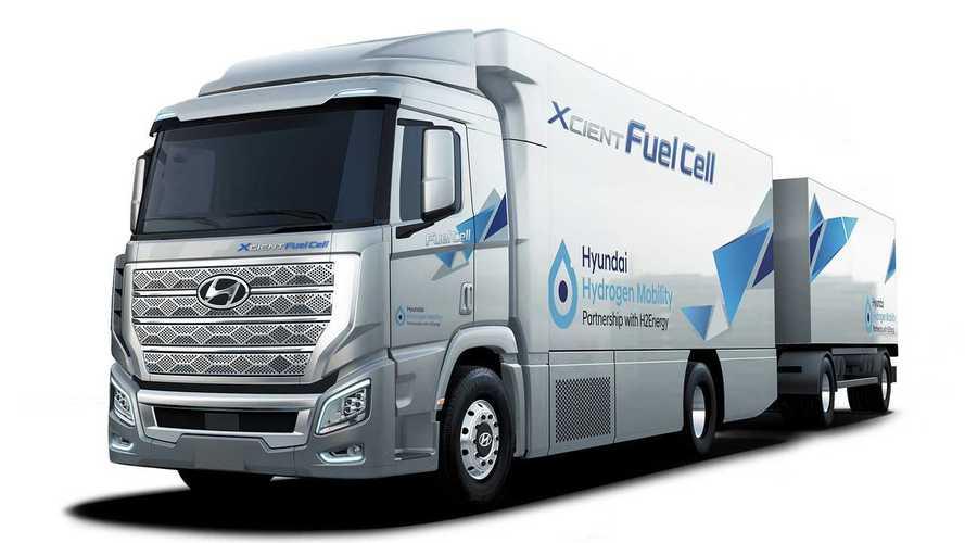 Hyundai, 1.600 camion a idrogeno entro il 2025