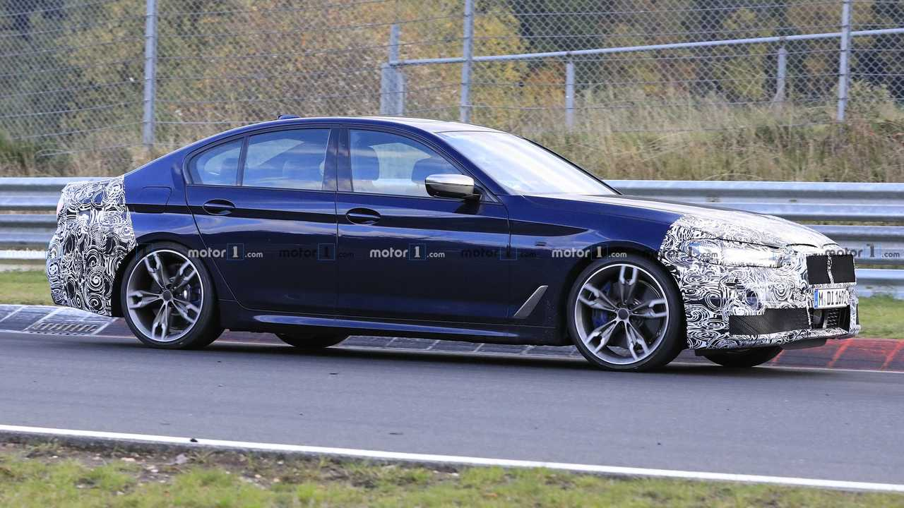 2020 BMW 5 Series new spy photo