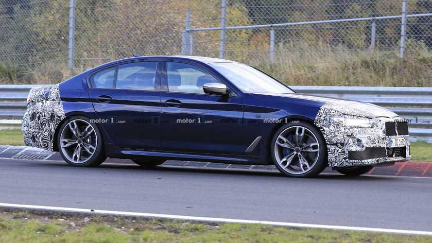 BMW 5er-Reihe (2020): Neue Erlkönige zeigen mehr vom Facelift