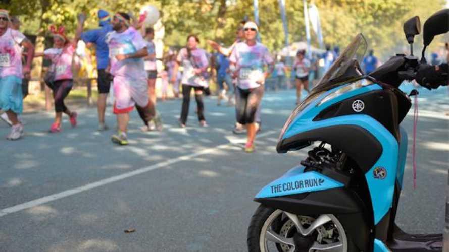 Yamaha Tricity: anche nel 2015 partner della Color Run