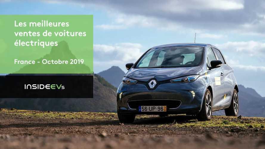 VIDÉO - Les dix voitures électriques les plus vendues en octobre