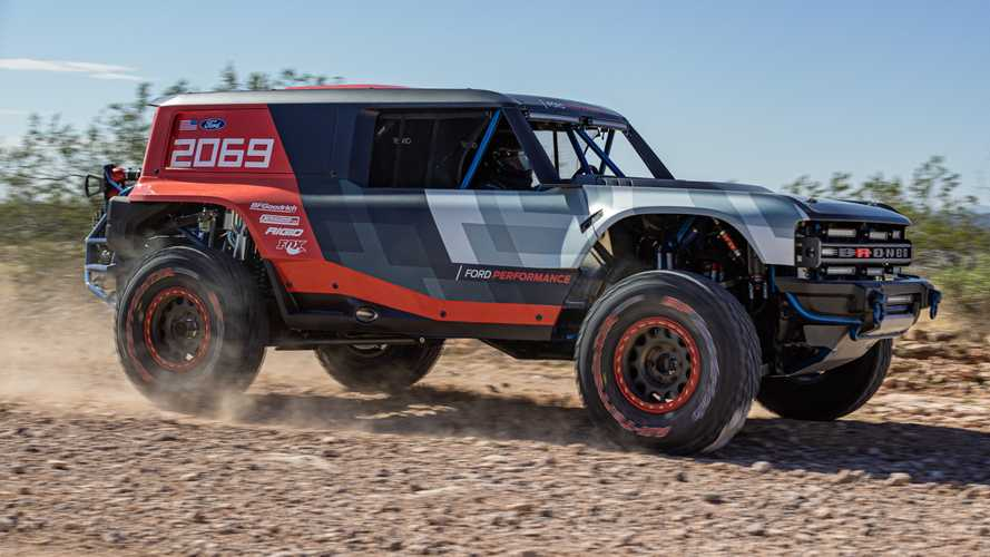 Ford Bronco Teased With Debut Of Bronco R Baja Racer