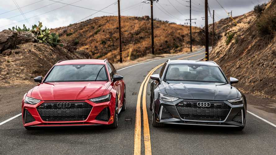 2021 Audi RS6 Avant shot by Auditography | Motor1.com Photos