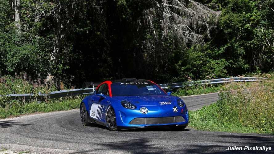 L'Alpine A110 R-GT s'entraîne avant son retour en rallye