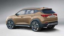 Hyundai Tucson (2020): Rendering nach neuesten Erlkönigbildern
