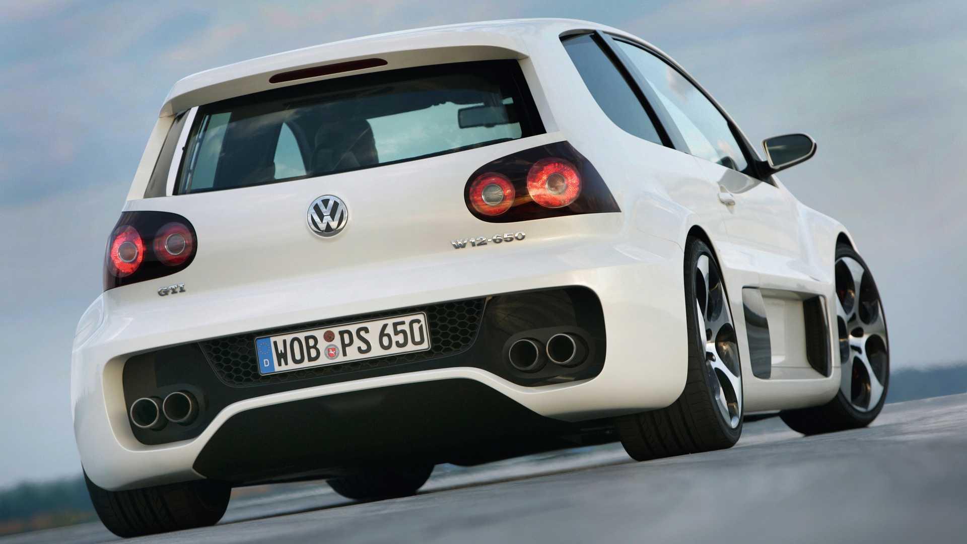 Concept oublié - VW Golf GTI W12-650 (2007)