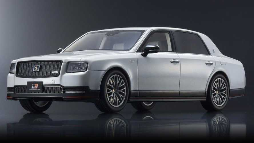 Toyota Century GRMN goes into production… as scale model