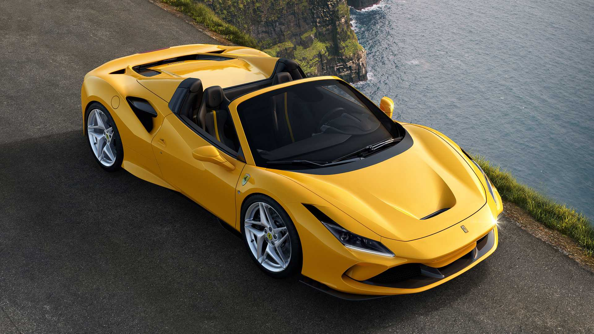 Ferrari F8 Spider revealed with more power, less weight than 488 Spider