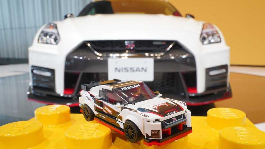 Nissan GT-R Nismo, il modellino Lego