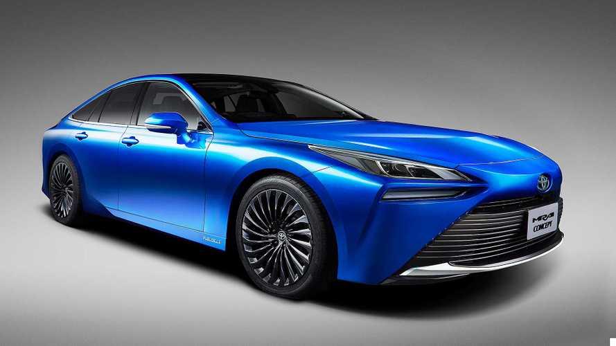 Toyota Mirai Concept: Ausblick auf die zweite Generation