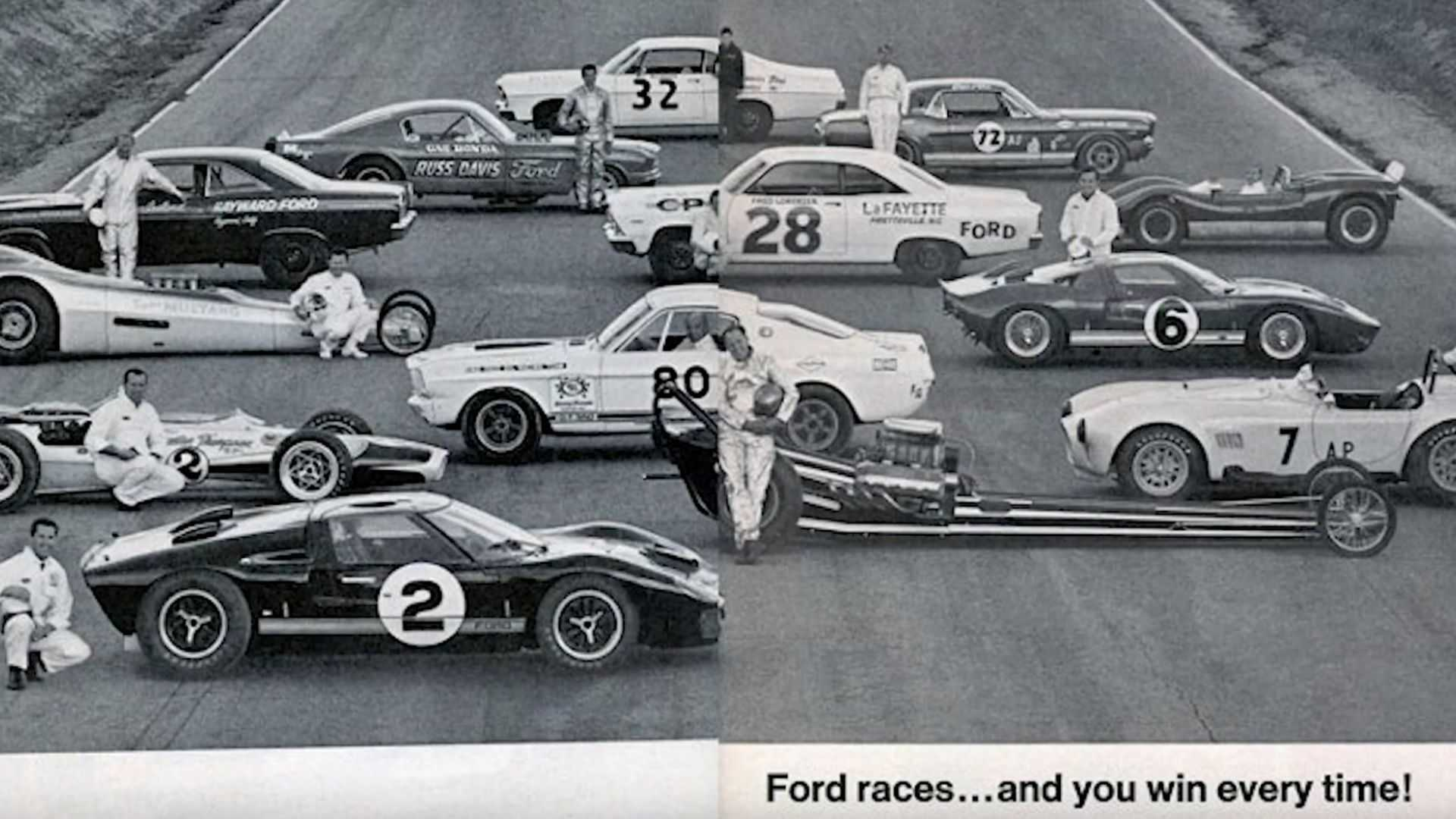 """[""""VIDEO: 1966 Ford GT40 Mk. II P/1046 Won Le Mans For Ford, and America""""]"""