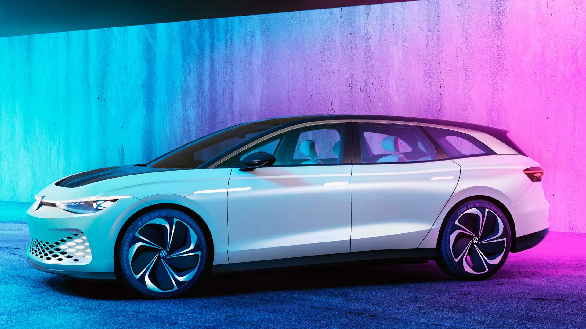 VW May Toughen Up Production ID. Space Vizzion With Alltrack-Like Looks