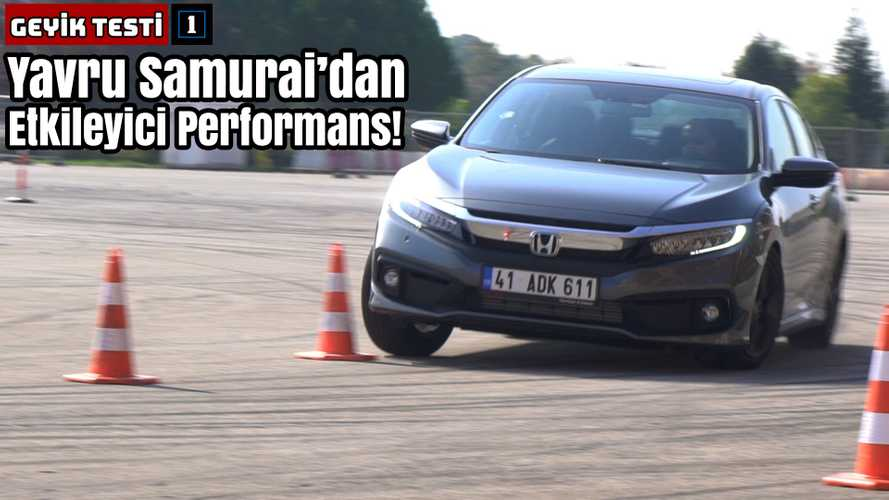 Honda Civic 1.5 VTEC Turbo | Geyik Testi