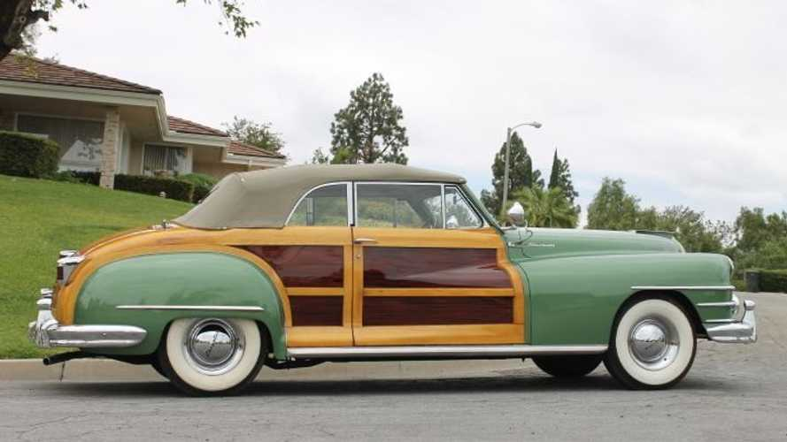 Cruise Vintage Style In This 1948 Chrysler Town & Country
