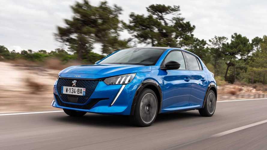 Recém-lançado no Brasil, Peugeot 208 elétrico foi o líder do segmento na França