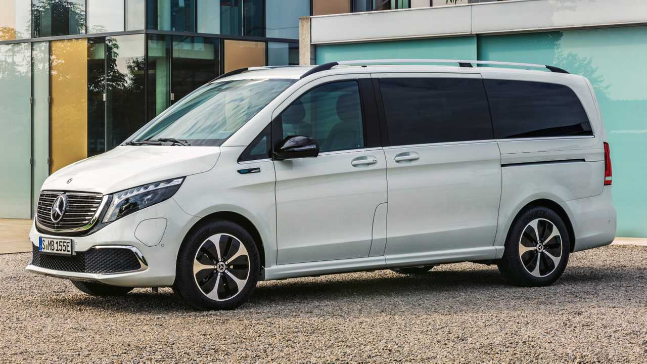 Mercedes-Benz EQV lead image