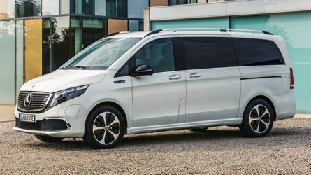 Mercedes EQV revealed as world's first all-electric premium van