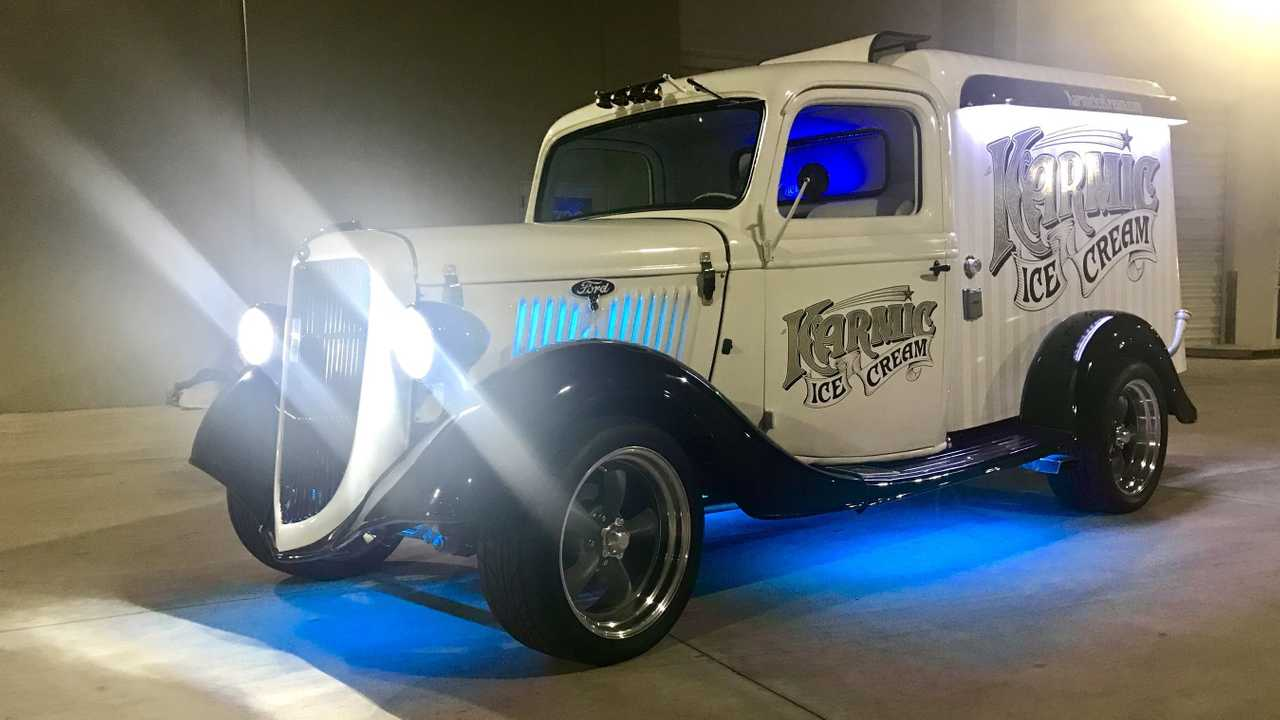 1935 Ford Hot Rod Doubles As A Wicked Cool Ice Cream Truck
