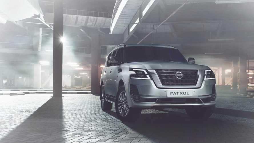 Внезапно представлен обновленный Nissan Patrol