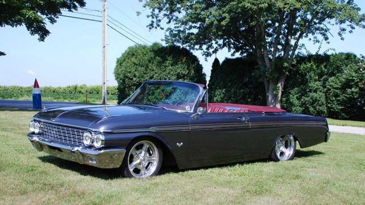 Bid On This Twin-Turbo Coyote-Powered 1962 Ford Galaxie 500XL Restomod