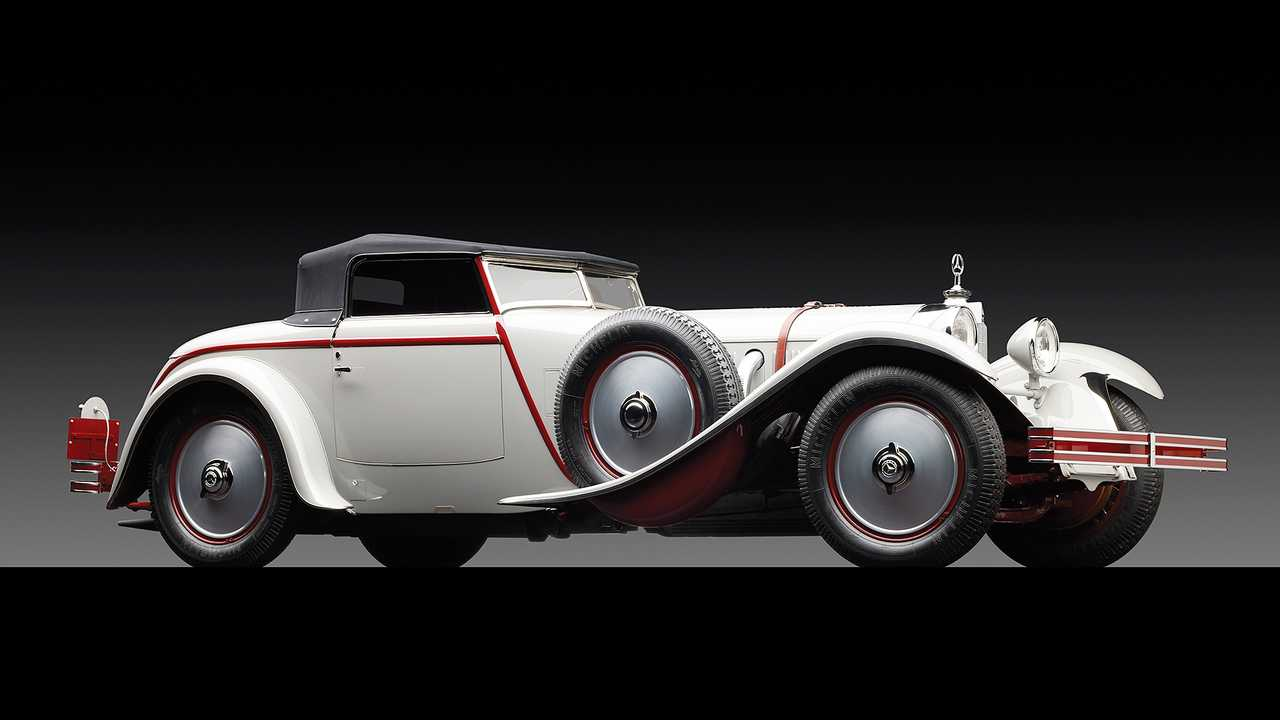 Mercedes 680 S Torpedo Roadster (1929) - 7,5 миллиона евро
