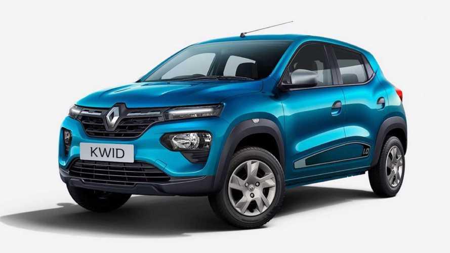 Renault Kwid reestilizado antecipa mudanças do modelo nacional