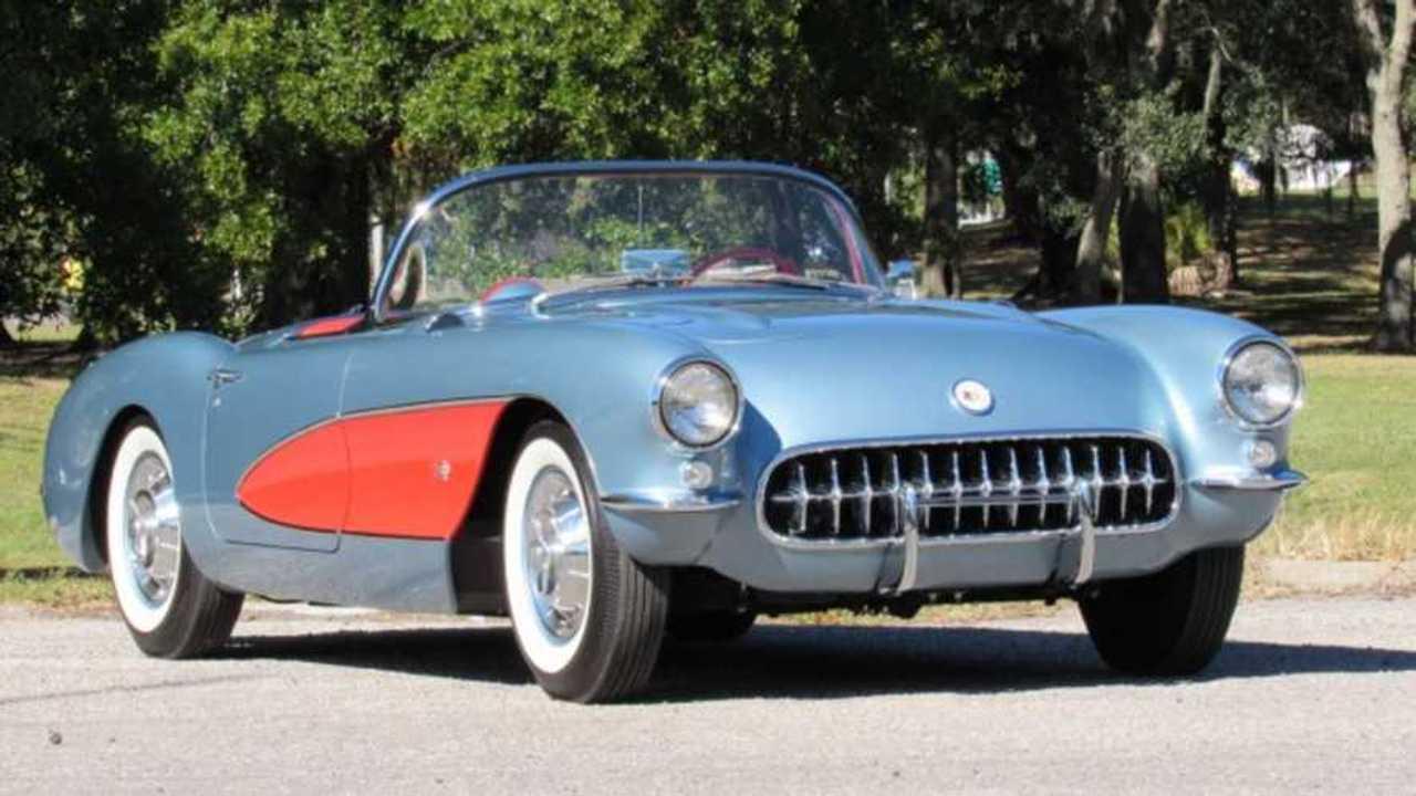 Beautiful 1957 Chevy Corvette Boasts Rare Options