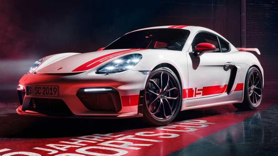 Porsche 718 Cayman GT4 Sports Cup Edition Gets Visual Tweaks
