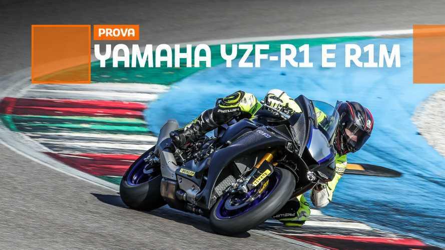 Yamaha YZF-R1 e R1M - TEST