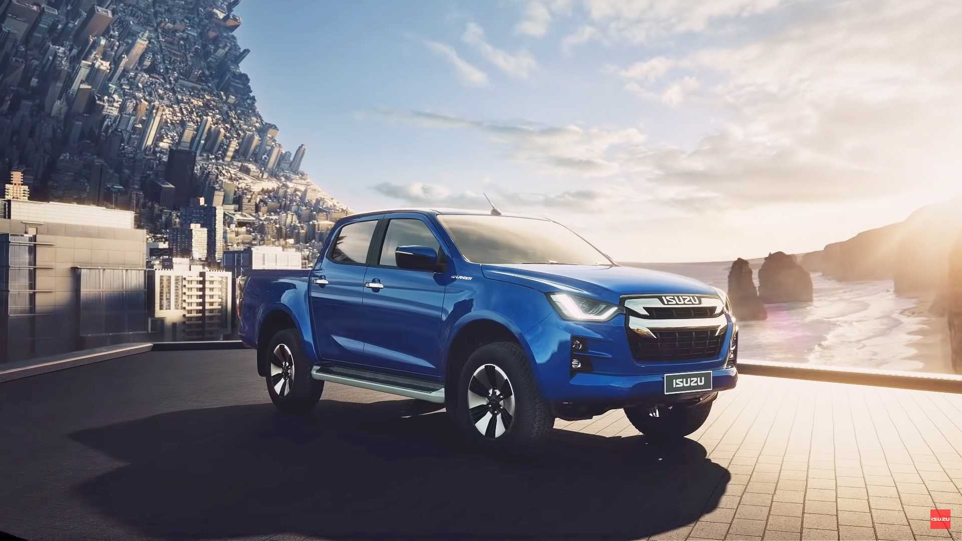 2020 Isuzu D Max Concept Interior Design And Release Date >> 2020 Isuzu D Max Debuts Its New Truck Bod In Thailand