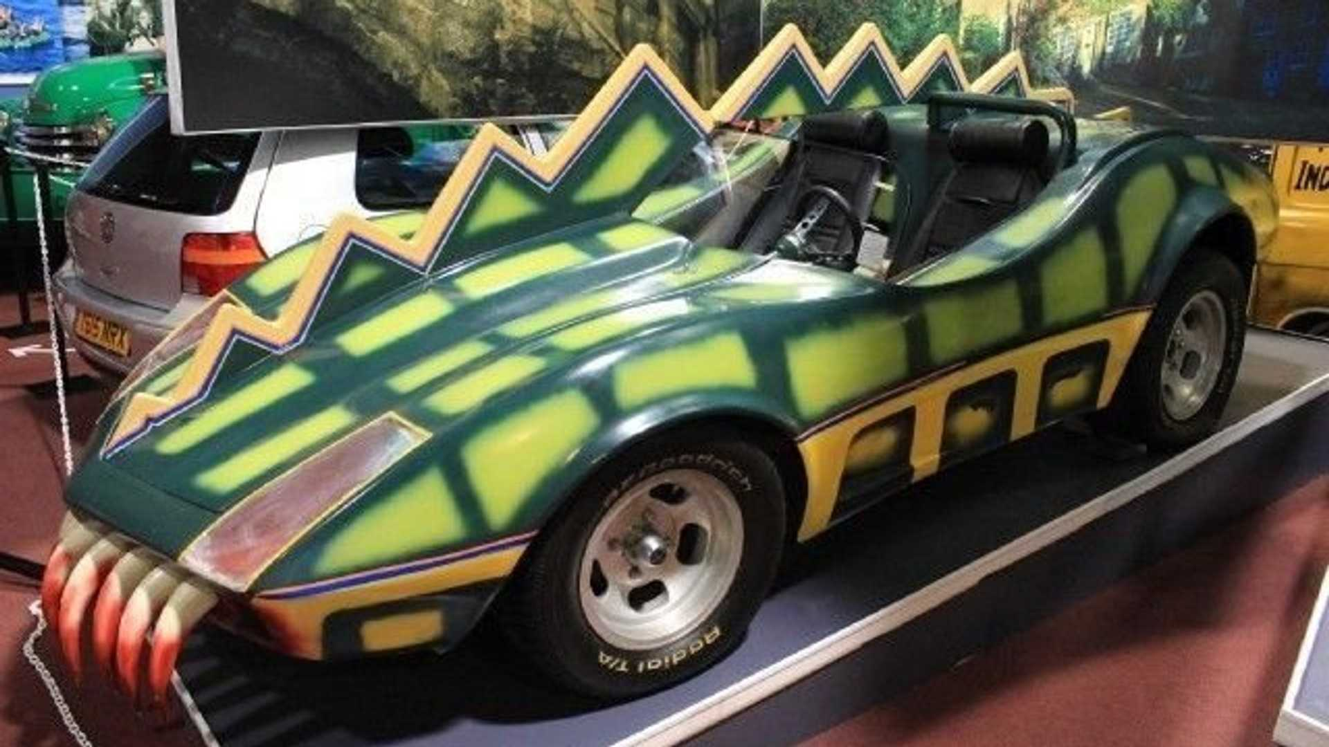 """[""""Terrify Motorists In This Death Race 2000 Alligator Car""""]"""