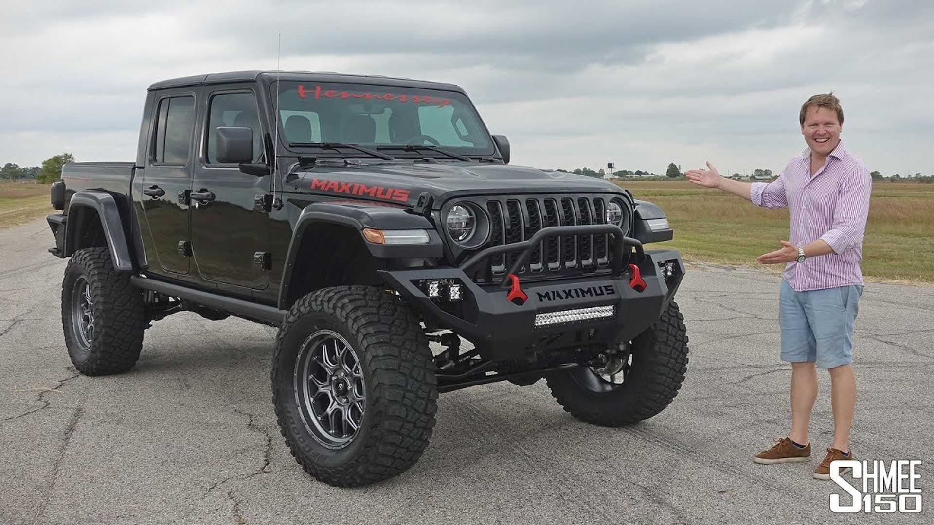$200,000 Jeep Gladiator Maximus Bares Its 1,000 HP On Video