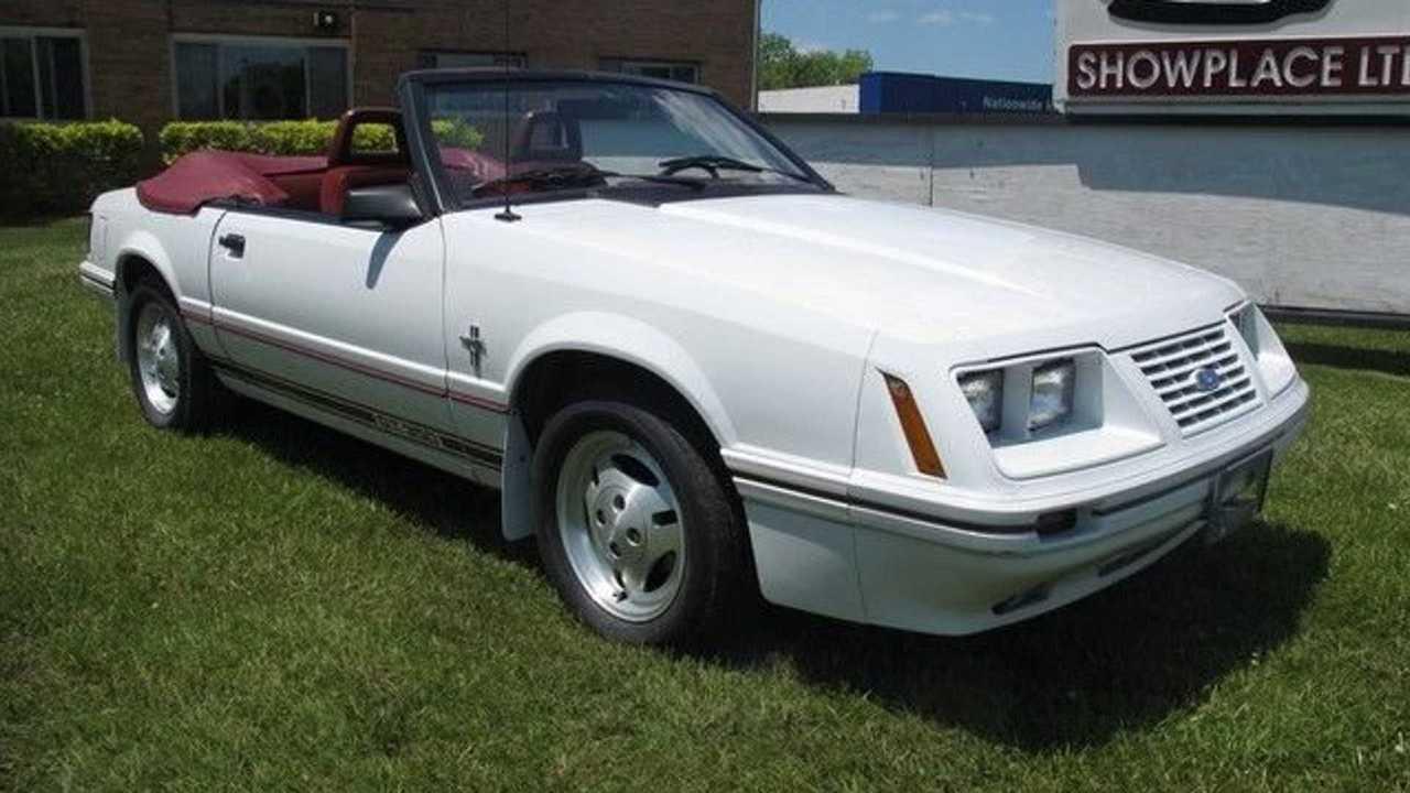 1984 Mustang GT350