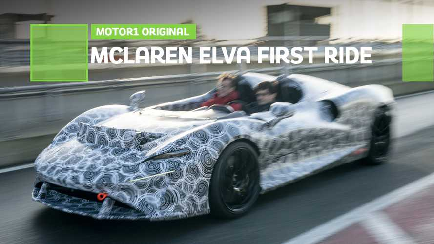 McLaren Elva first ride: The windowless wonder
