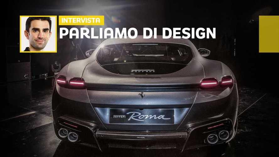 Lo stile della Ferrari Roma raccontato da Flavio Manzoni